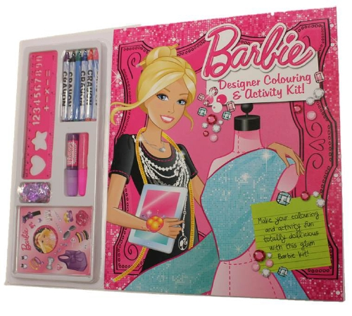 BARBIE COLOURING AND ACTIVITY  - Toy/Game