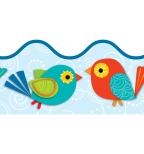 Boho Birds Borders
