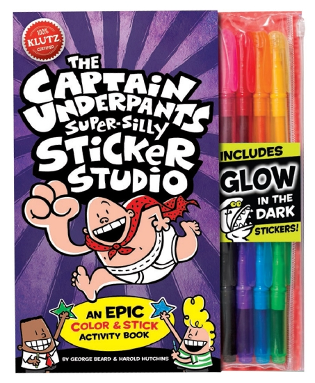 Klutz: Captain Underpants Super Silly Sticker Studio
