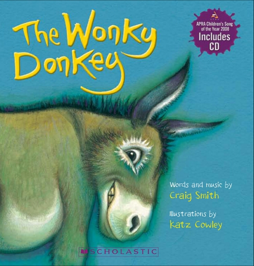 Wonky Donkey Board Book (with CD)