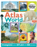 Children's Sticker Atlas: Atlas of the World