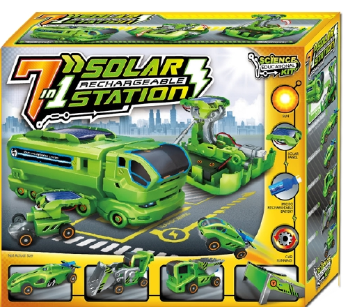 7 in 1 Solar Recharge Station