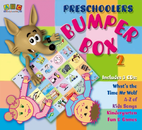 Preschoolers Bumper CD Box