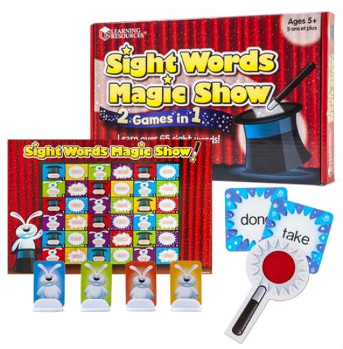 Toy Vocabulary Game : The store sight words magic show toy game