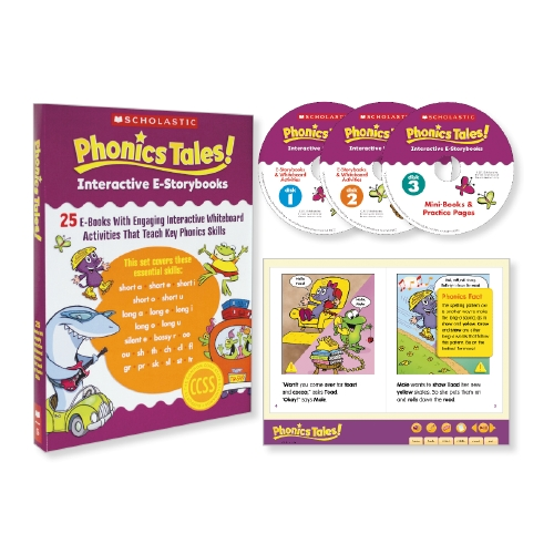 Phonics Tales for the Interactive Whiteboard                                                         - Teacher Resource