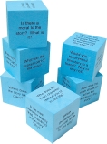 Foam Reading Comprehension Cubes