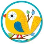 Boho Birds Two-Sided Decoration