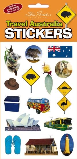 Travel Australia Stickers