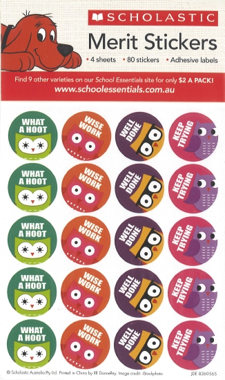 Wise Owls Stickers