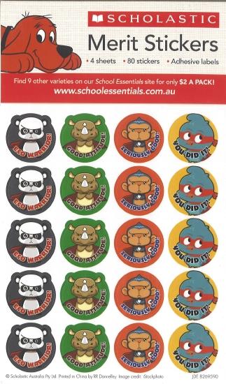 Animal Superpower Stickers