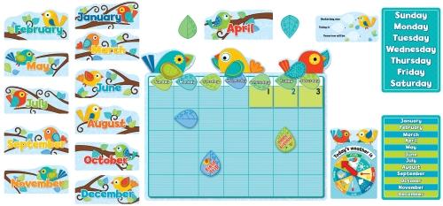 Boho Birds Calendar Set