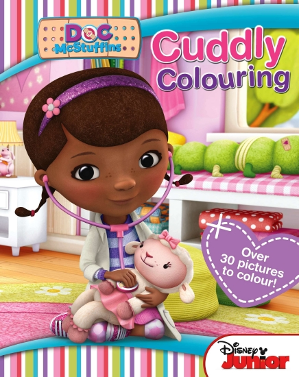 The Store Doc Mcstuffins Colouring Book Book The Store