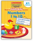 Learning Express NAPLAN: Numbers 1 to 10 K1