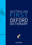 Australian First Oxford Dictionary
