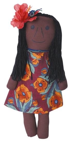 Torres Strait Islander Girl - Toy/Game