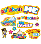All About Me Bulletin Board Set