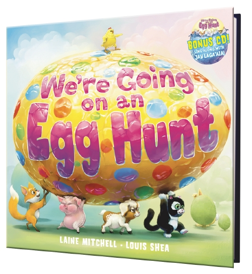 We're Going on an Egg Hunt (with CD)