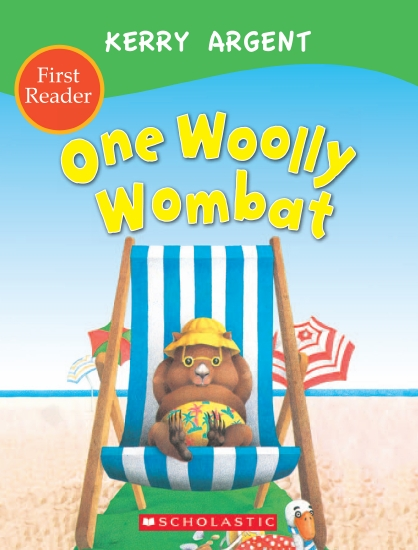 ONE WOOLLY WOMBAT FIRST READER