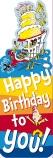 Dr Seuss Happy Birthday Bookmark