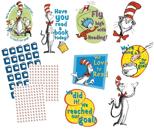 Cat in the Hat Reading Goal Kit                                                                      - Stationery