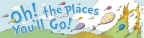 Dr Seuss 'Oh! The Places You'll Go!' Balloons Banner