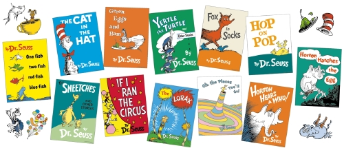 Dr Seuss Books Mini Poster Set
