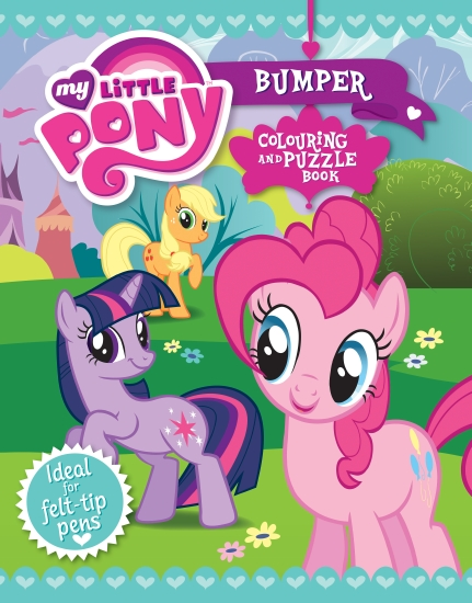 My Little Pony Bumper Colouring and Puzzle Book - Book