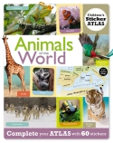 Animals of the World Sticker Atlas