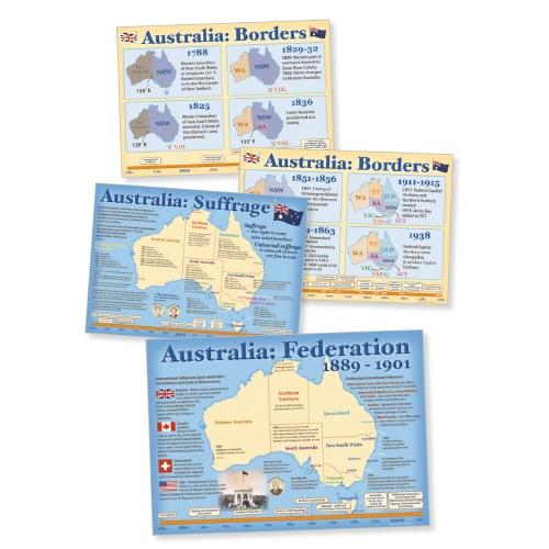 Australian Maps: Nationhood and Federation                                                           - Teacher Resource