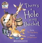 There's a Hole in My Bucket Board Book (with CD)