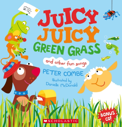 Juicy Juicy Green Grass (with CD)