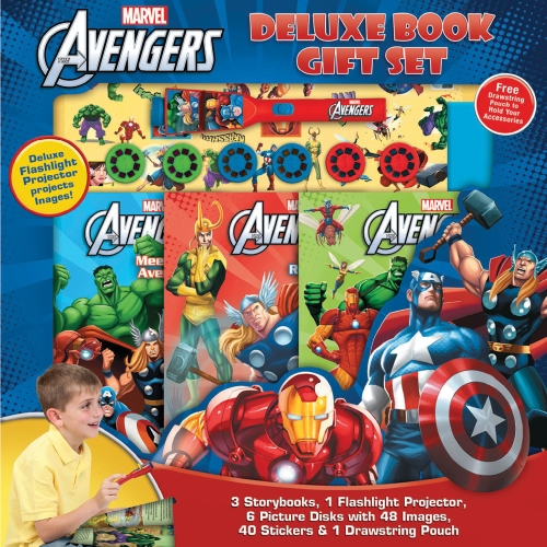 The Avengers Deluxe Book Gift Set