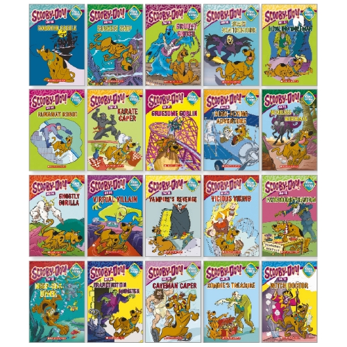 Product Scooby Doo Chapter Book 20 Pack Colour Editions