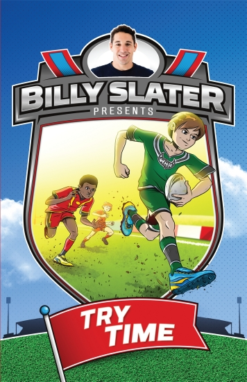 Billy Slater presents Try Time                                                                       - Book