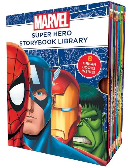 Hard Back Super Hero Books For Kids