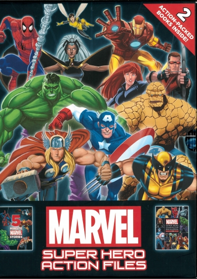 The Store Marvel Super Hero Action Files Book The Store