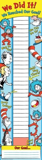 Dr Seuss Goal-Setting Banner