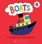 Machines and Me! Boats Board Book