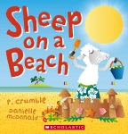Sheep on a Beach BC Edition