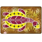 Aboriginal Art Puzzle: Turtle