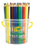 Crayola Triangluar Coloured Pencils Deskpack - Set of 48
