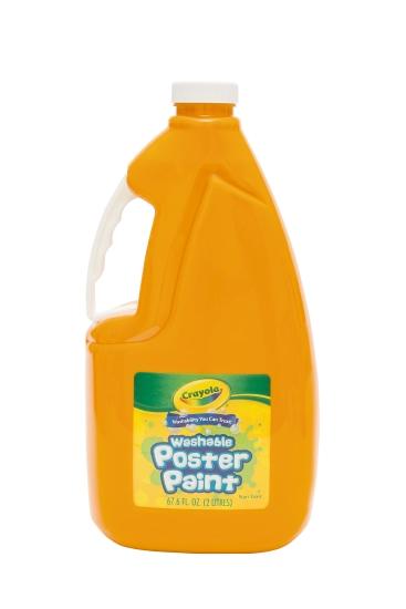 Crayola Washable Poster Paint: Orange (2L)