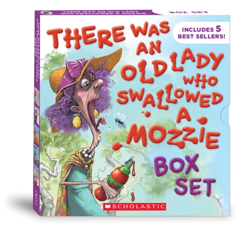 There Was an Old Lady Who Swallowed a Mozzie Boxed Set