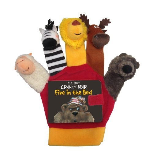 The Very Crank Bear: Five in the Bed Hand Puppet
