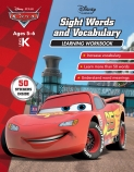 Disney Cars: Sight Words & Vocabulary Learning Workbook Level K