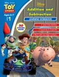 Disney Toy Story: Addition and Subtraction Learning Workbook Level 1