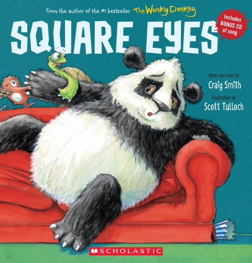 Square Eyes (with CD)                                                                                - Book