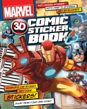 Marvel 3D Comic Sticker Book