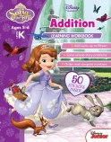 Disney Sofia the First: Addition Learning Workbook Level K