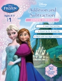 Disney Frozen: Addition and Subtraction Learning Workbook Level 1